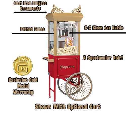 gold medal 6 oz popcorn machine