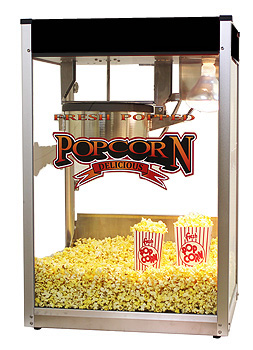 Movie Pop 14 Black popcorn machine