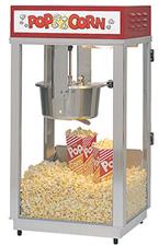 Gold Medal Super 88 Lighted popcorn machine